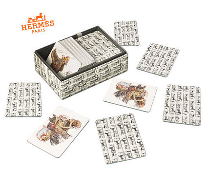 * HERMES * La Collection Emile Hermes / card games