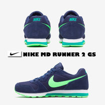 NIKE★MD RUNNER 2 GS★22.5~25cm★OBSIDIAN×VOLTAGE GREEN