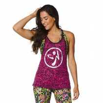 ☆ZUMBA・ズンバ☆Funked Up Burnout Tank BR