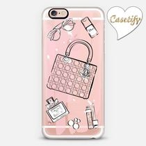 ☆Casetify☆ iPhoneクリアケース♡Pink Dior Love♡
