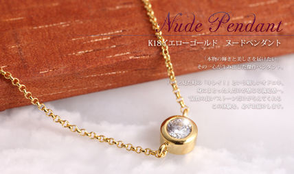 K18GP ヌードネックレス Alice -Nude-