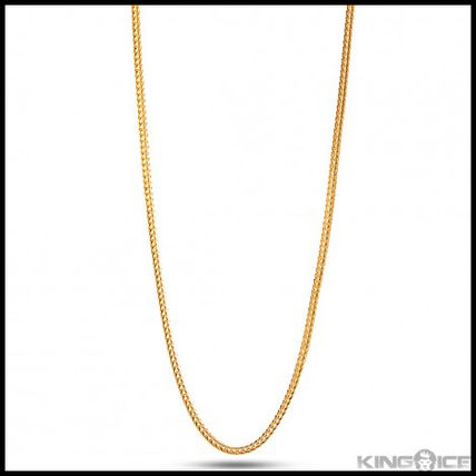 """King Ice"" 2MM 14K YELLOW GOLD FRANCO HIP HOP CHAIN"