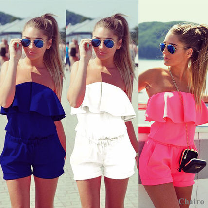 Too cute frilly rompers jumpsuits