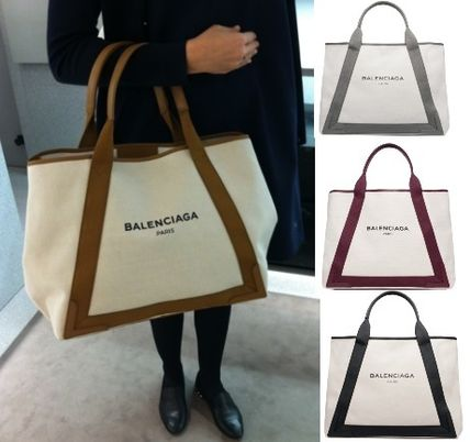 BALENCIAGA popular canvas tote m