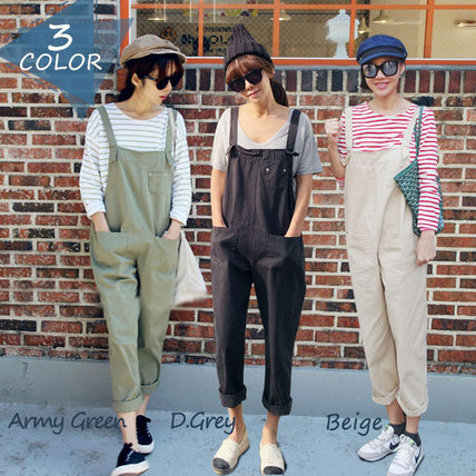 Denim overalls-overalls loose our Twill material 2177