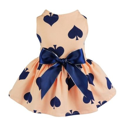 Pet clothes DOG &CAT dog & cat cute Ribbon with dress 5size
