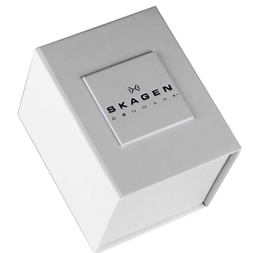 ★NEW★SKAGEN  Silver Dial Rose Gold Ladies Watch SKW2142