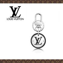 LVロゴが素敵♪2016☆LOUIS VUITTON PORTE-CLES LV CUT CIRCLE