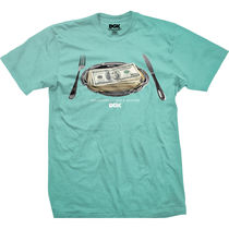 DGK(ディージーケー ) Tシャツ・カットソー ディージーケー DT-2681 MEAL TIME TEE MINT