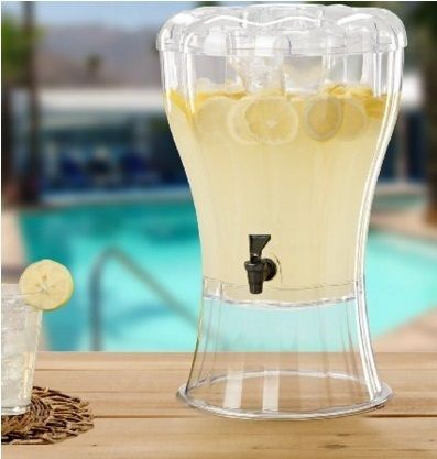 Ice corn with a removable summer Essentials drink dispenser