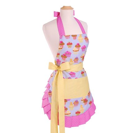 Flirty Aprons エプロン Original Frosted Cupcake  [即発]