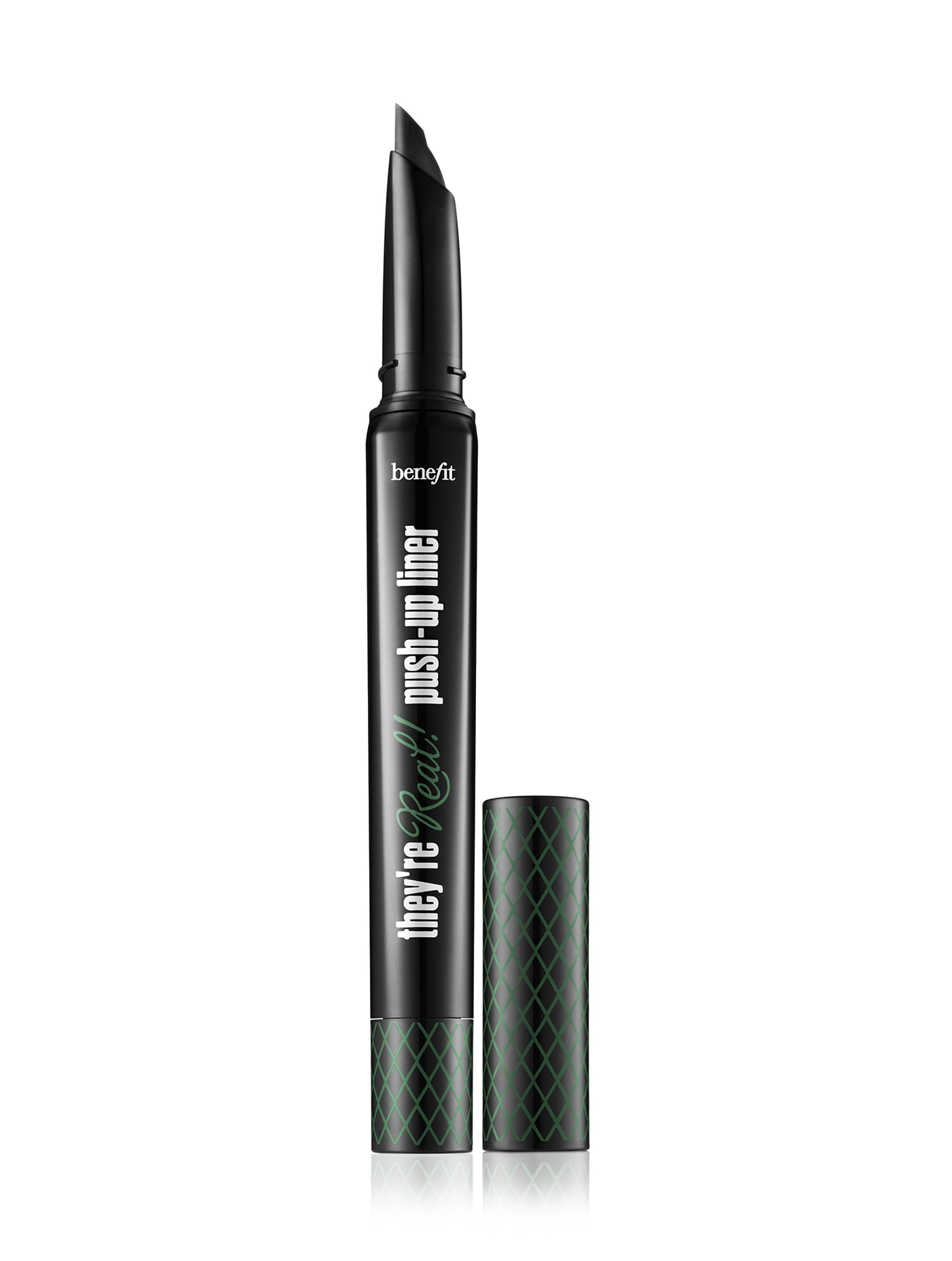 新作 Benefit They're Real! Push-up liner アイライナー Green