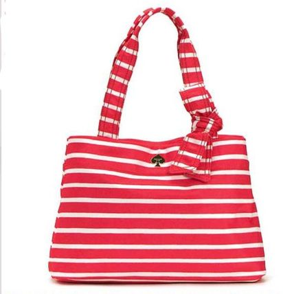 KATE SPADE MARY ANNE ボーダートート