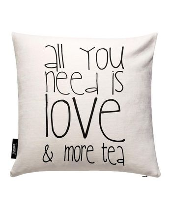 JUNIQE All You Need And More Tea カバー By Monika Strigel