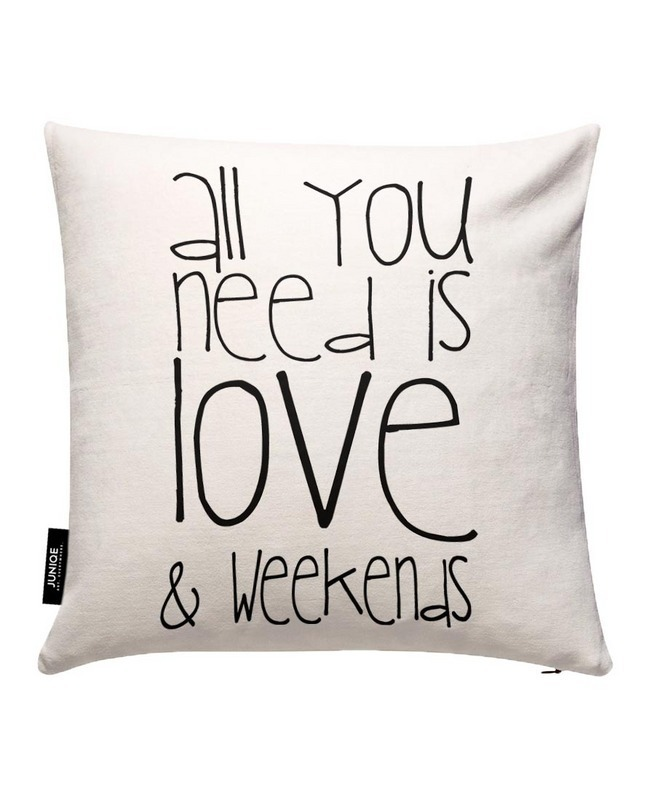 ◆JUNIQE◆All You Need And Weekend カバー By Monika Strigel