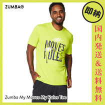 ZUMBA My Moves My Rules Tee|ズンバ メンズ Tシャツ Z.Green
