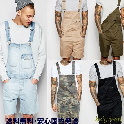 ASOS men's short overalls