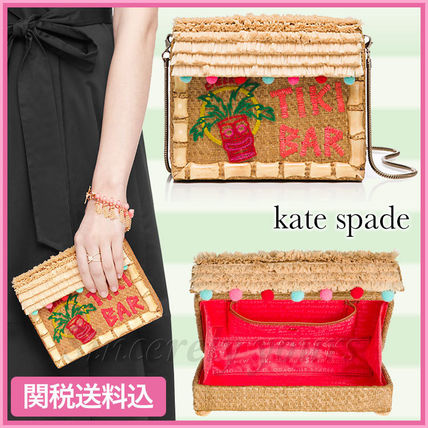 ☆関税送料込 kate spade☆breath of fresh air tiki barバッグ