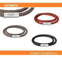HERMES【Goliath Double tour】 レザーブレスレット☆各色☆