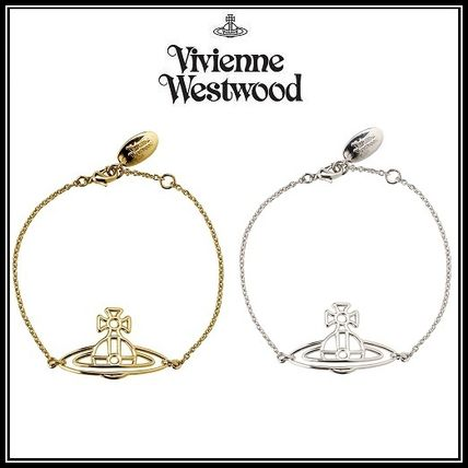 *Vivienne Westwood*THIN LINES FLAT ORB ブレスレット