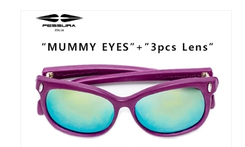 ★フェスーラー★MUMMY EYES - PURPLE