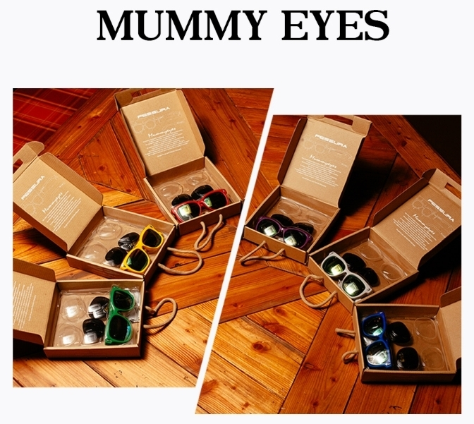 ★フェスーラー★MUMMY EYES - RED