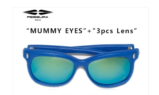 ★フェスーラー★MUMMY EYES - BLUE