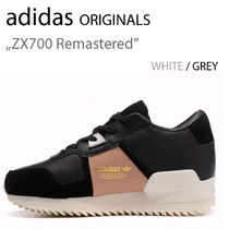 adidas Originals ZX700 Remastered BLACK WHITE LEATHER S77368