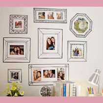 【Pottery Barn】 ウォールステッカー11点セット Gallery Frame