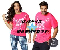 XS/S即納【ZUMBA】Lion in a Kitty Cat World Tee Z3T00053