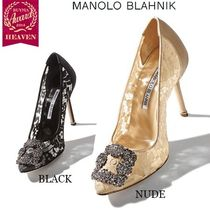 TOPセラー賞受賞!┃MANOLO BLAHNIK┃HANGISI LACE 105_Buckled