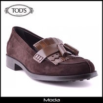 ★TOD'S★トッズスエードブラウンシューズ<国内発送・関税無>