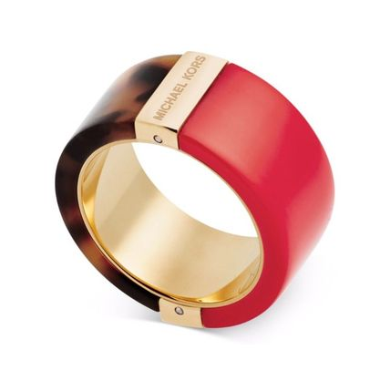 専用巾着袋入り★Michael Kors★Rose Color Blocked Ring
