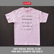 Sサイズ!ANTISOCIAL SOCIAL CLUB SELF DOUBTS TEE PINK