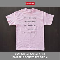 Mサイズ!ANTISOCIAL SOCIAL CLUB SELF DOUBTS TEE PINK