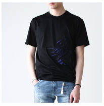 LANVIN(ランバン) Tシャツ・カットソー 【関税負担】 LANVIN 16SS SCORPION PATCHED T-SHIRT BLACK