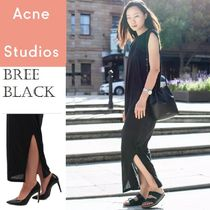 ACNE Bree Fruid Dark navy / Black  ブリーフルードドレス 2色