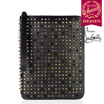TOPセラー賞受賞!┃16SS┃ルブタン┃Spiked leather iPad case