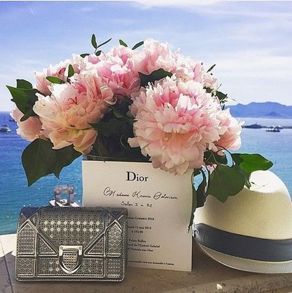 Christian Dior ショルダーバッグ・ポシェット 無性に欲しい★DIOR★BABY DIORAMA SHOULDER in SILVER(4)