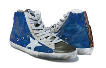 【関税負担】GOLDEN GOOSE 16SS FRANCY BLUE/GREY STAR
