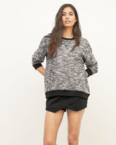 アバクロ☆レディース【Womens Textured Boucle Sweatshirt】