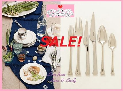 * The final SALE& the most reasonable Anthro Luna Flatware,
