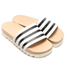 ADIDAS Originals☆ADILETTE WOOD W ウッドサンダル S79365