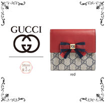 GUCCI*グッチ*大人可愛いデザイン☆ french flap wallet 財布♪