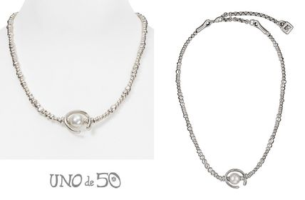 UNOde50/Another round, oh oh oh…!パール&シルバーネックレス