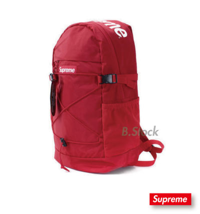 [15 S/S]国内発送 SUPREME Backpack Red