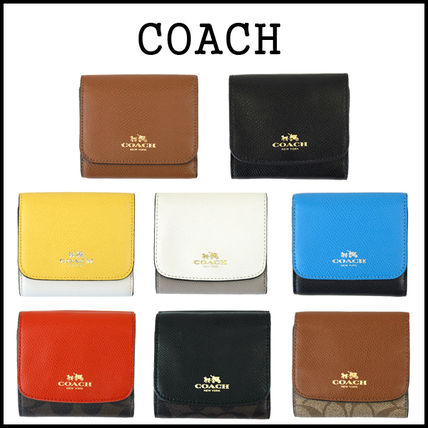 3-5 days at COACH SM trifold wallet mini bifold wallet