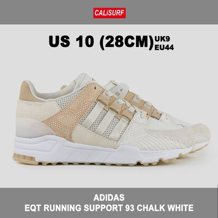 28CM ADIDAS(アディダス)EQT RUNNING SUPPORT 93 CHALK WHITE