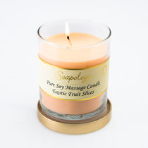 Soapology(ソーポロジー) アロマ・バスグッズその他 (NYC限定商品) Soapology Soy Massage Candle Exotic Fruit