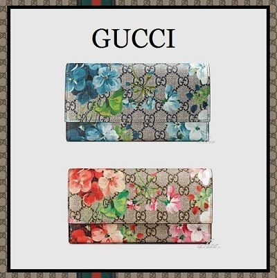 2016 ss new arrival GUCCI popular gg blooms long wallet